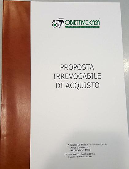 La proposta di acquisto archivi nicola salerno - Proposta acquisto casa ...
